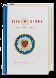 Ansicht des Umschlags der Publikation einer Lutherbibel